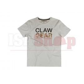 MC Clawgear T-Shirt Light Grey