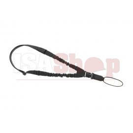 One Point Elastic Support Sling Paracord Black