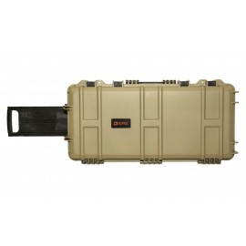Waterproof Case 75 x 33 x 13 cm Tan