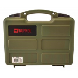 Small Case For Handgun Pre-Cut Foam Green
