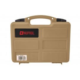 Small Case For Handgun Pre-Cut Foam Tan