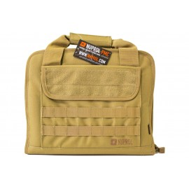 Deluxe Soft Case For 2 Pistols Tan