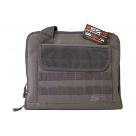 Deluxe Soft Case For 2 Pistols Grey