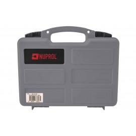 Small Case For Handgun Wave Foam Grey