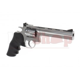 6 Inch DW 715 Revolver Full Metal Co2 Silver