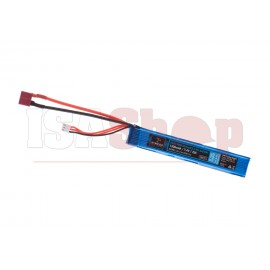 Lipo 7.4V 1300mAh 25C Stock Tube T-Plug Type