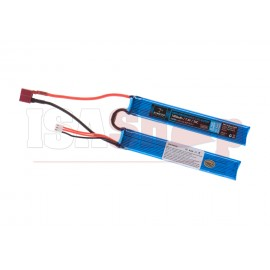 Lipo 7.4V 1300mAh 25C Twin T-Plug Type