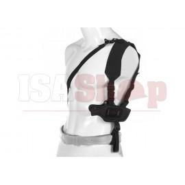 Fast-Draw Shoulder Holster For Glock 17 Black
