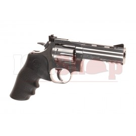 2.5 Inch DW 715 Revolver Full Metal Co2 Silver