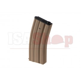 M4 Midcap Polymer Magazine 120rds Tan