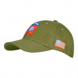 82nd Airborne Division Baseball Cap Green