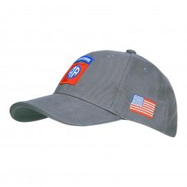 82nd Airborne Division Baseball Cap Grey