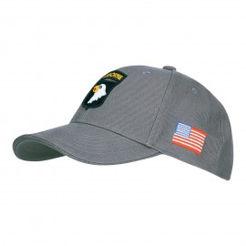 101st Airborne Division Baseball Cap Grey
