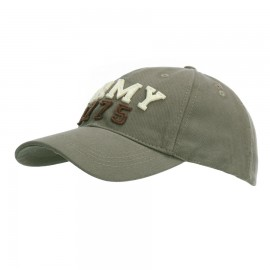 US Army 1775 Stonewashed Baseball Cap Green