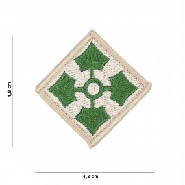 WWII 4th Infantry Division Patch