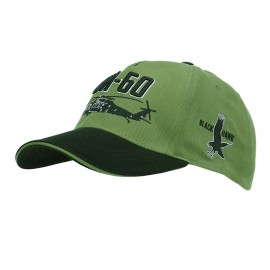 UH-60 Blackhawk Baseball Cap Green