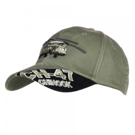 CH-47 Chinook Baseball Cap Stonewashed Green