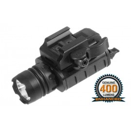 Tactical Picatinny Pistol Lamp Black