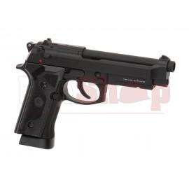 M9 Vertec Full Metal Co2 Pistol Black