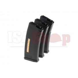 MS120c M4 Midcap 120rds 3-pack Magazine Black