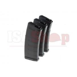 K120c M4 Midcap 30/120rds 3-pack Magazine Black