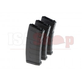 M4 Hicap 400rds 3-pack Magazine Black