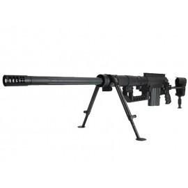 Socom Gear M200 Shell Ejecting Sniper Rifle Black (8mm)