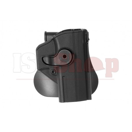 Roto Paddle Holster for CZ P-07 Black