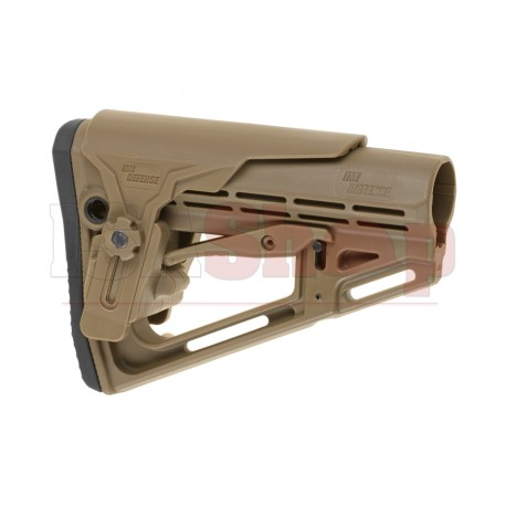 TS-1 Tactical Stock Mil Spec with Cheek Rest Tan