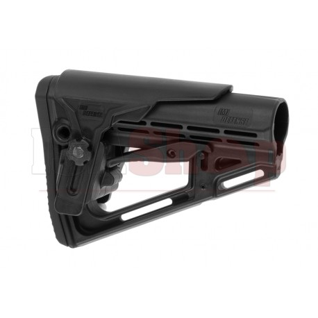 TS-1 Tactical Stock Mil Spec with Cheek Rest Black