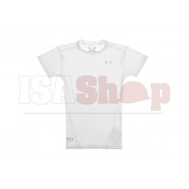 UA Tactical HeatGear Compression Tee White