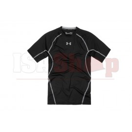 UA HeatGear Compression Tee Black