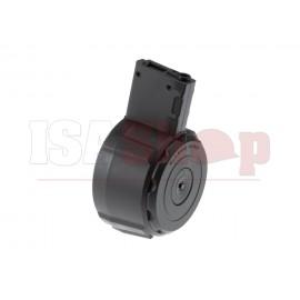Drum Mag M4 Auto Winding 1100rds Black