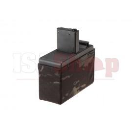Drum Mag CM16 LMG Without Battery 2500rds Multicam Black