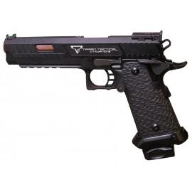 JW3 Combat Master Gas Blowback Pistol EMG x STI/TTI Licensed