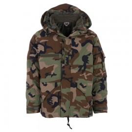 Military Parka US Woodland