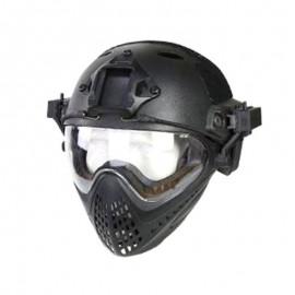 WST Piloteer Helmet System II Black