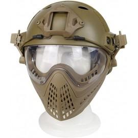 WST Piloteer Helmet System II Tan
