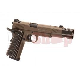 KP-16 Full Metal Co2 Tan