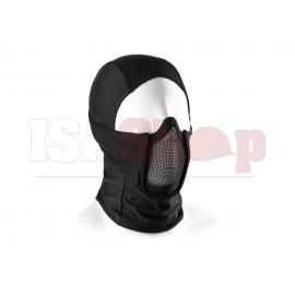 Mk.III Steel Half Face Mask Black