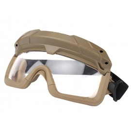Tactical Multi-dimensional Split Goggle Tan