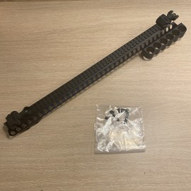 Long Shotshell Receiver Rail For Secutor/TM M870 Series Black