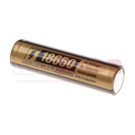18650 Battery 3.7V 3600mAh