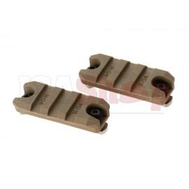 2 Inch M-LOK Plastic Rail 2-Pack