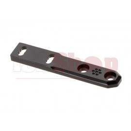 M-LOK & Keymod Rail Mount For M300 / M600 Black