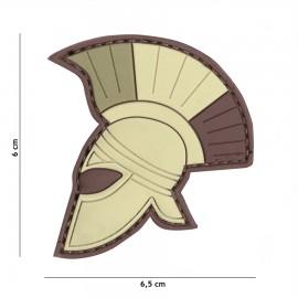 Spartan Helmet Multi 3D PVC Patch