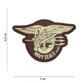 Navy Seals Tan 3D PVC Patch