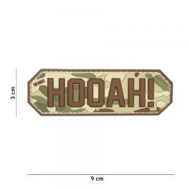 Hooah! Multi 3D PVC Patch