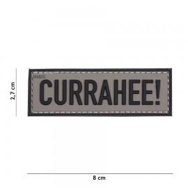 Currahee! Grey 3D PVC Patch