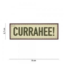 Currahee! Tan 3D PVC Patch